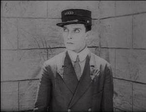Buster Keaton as Prison Guard in Convict 13 - Pretty Clever Films