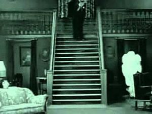 Buster Keaton - The Haunted House Staircase - Pretty Clever Films