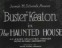 "Buster Keaton in ""The Haunted House"""