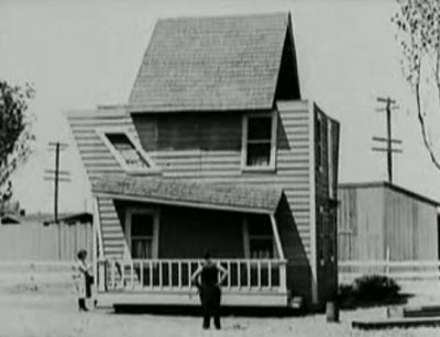 Buster Keaton's Lopsided House in One Week - Pretty Clever Films