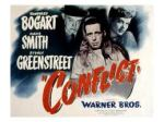 Conflict - Humphrey Bogart - Sydney Greenstreet - Lobby Card - Pretty Clever Films