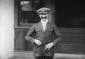 Harold Lloyd Bow Tie Mustache