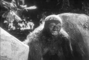 Ape man - The Lost World 1925 - Pretty Clever Films