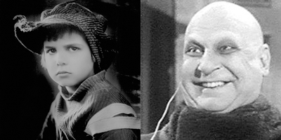 Image result for Jackie coogan as uncle fester