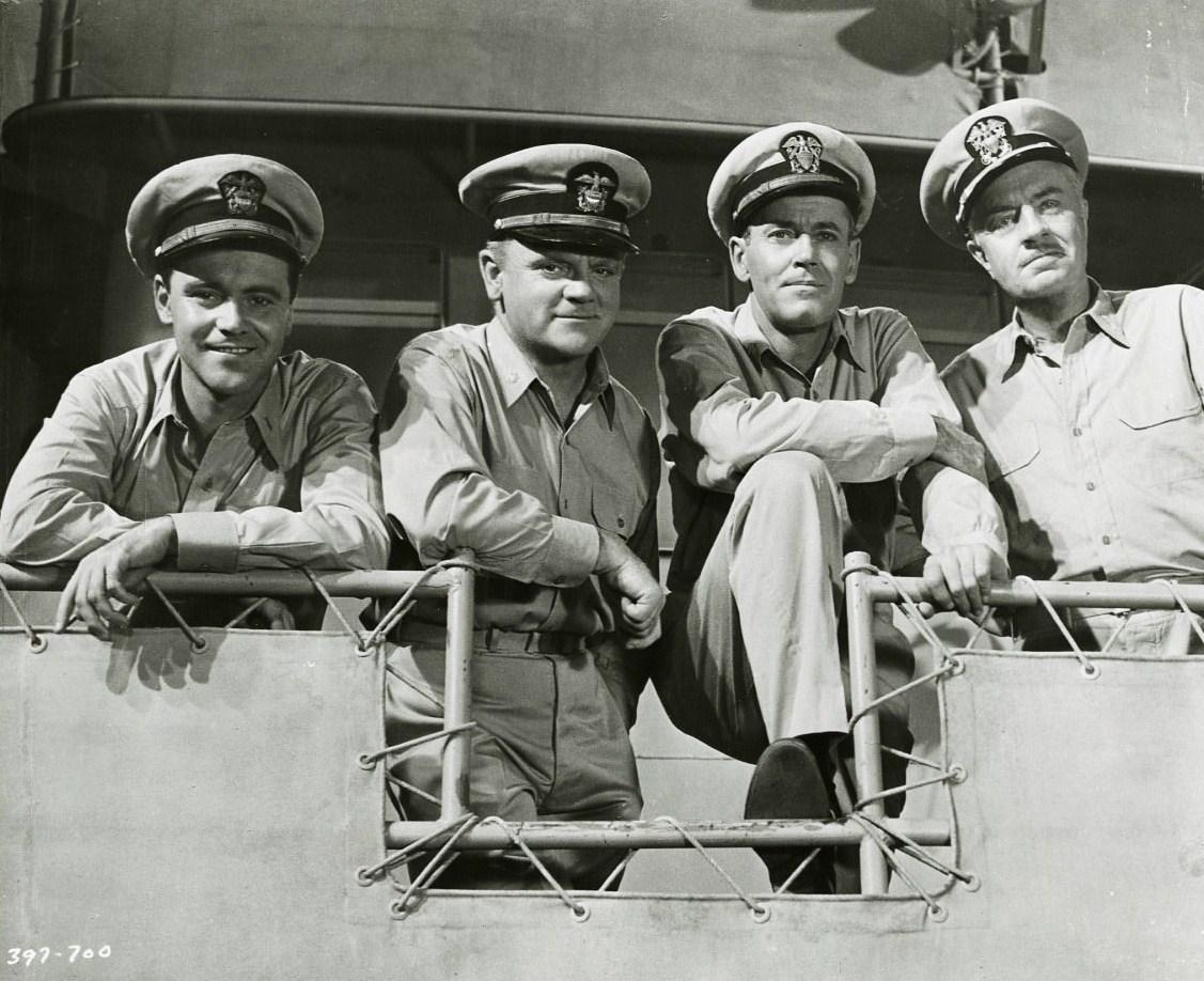 Mister Roberts Cast - Henry Fonda, James Cagney, William Powell, Jack Lemmon