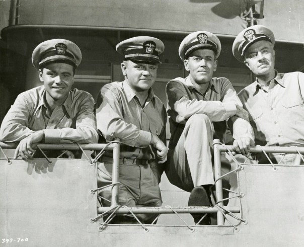 Mister Roberts Cast - Henry Fonda, James Cagney, William Powell, Jack Lemmon