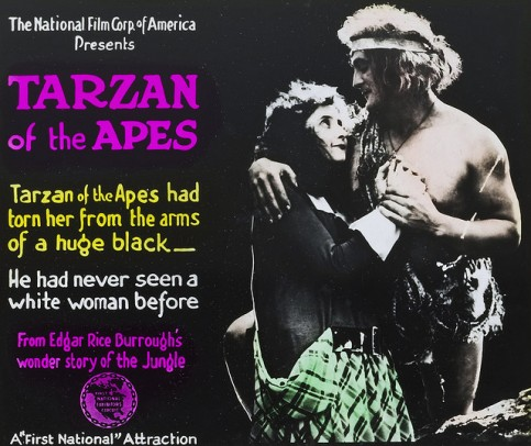 tarzan of the apes-1918-poster
