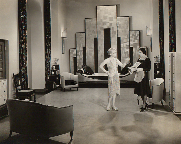 Tsff review our dancing daughters 1928 pretty clever for Art deco home interiors